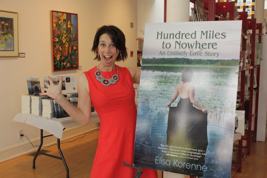 Hundred Miles to Nowhere Book Launch Photo Essay by Elisa Korenne